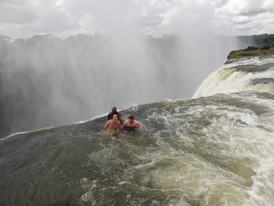 Devils Pool at Victoria Falls
