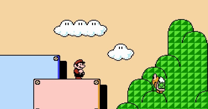 My all time favourite video games super mario bros 3 nes 1990