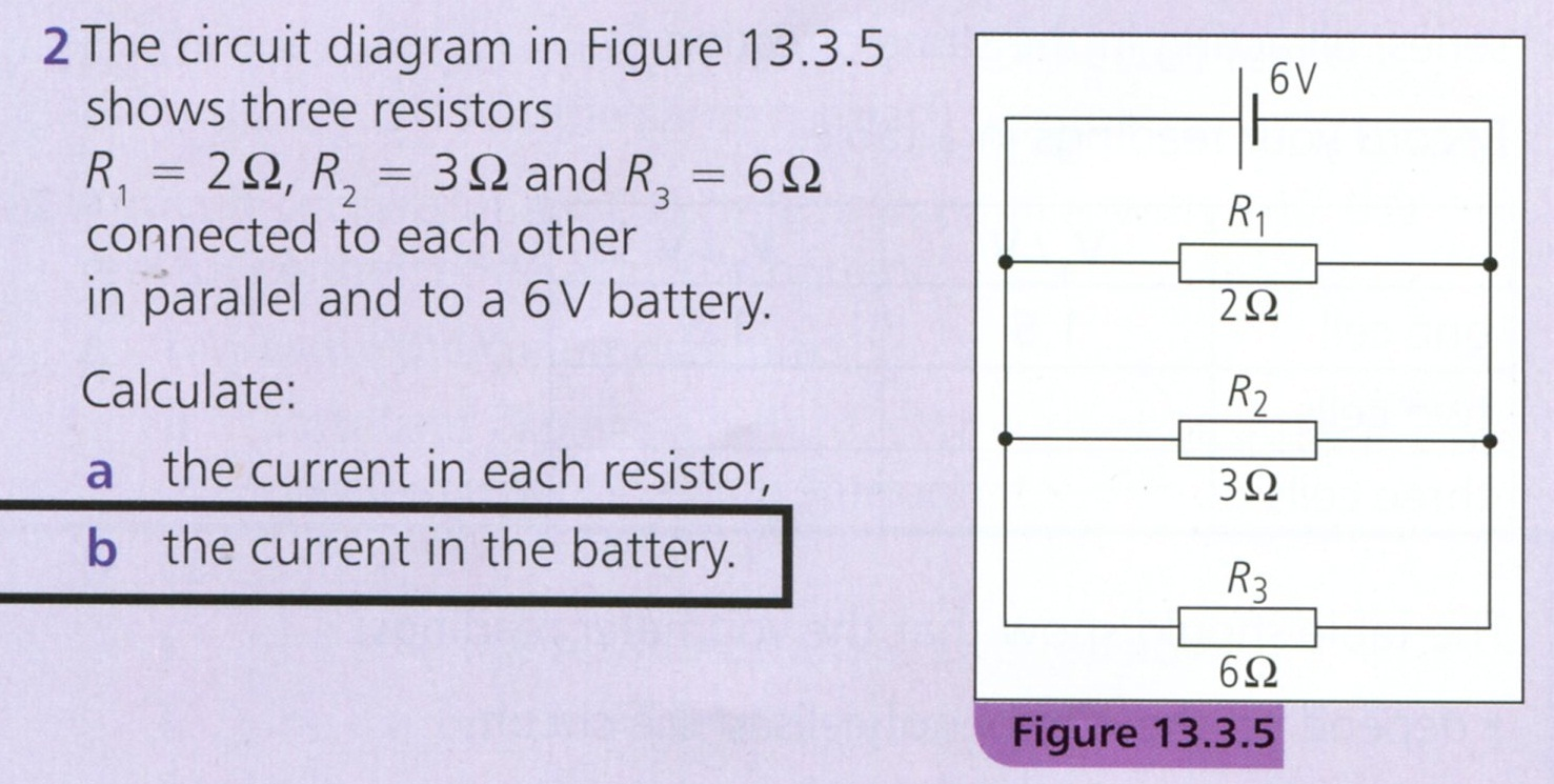Igcse Past Questions Circuits Physics 10b Plk Cky Make A Parallel Circuit This Is Scan Of Question 2 On Page 181 You Can Use The Or Your Textbook To Answer Parts Sure Show Working