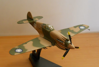 maqueta avión II G.M. Curtiss P-40 Warhawk Flying Tiger