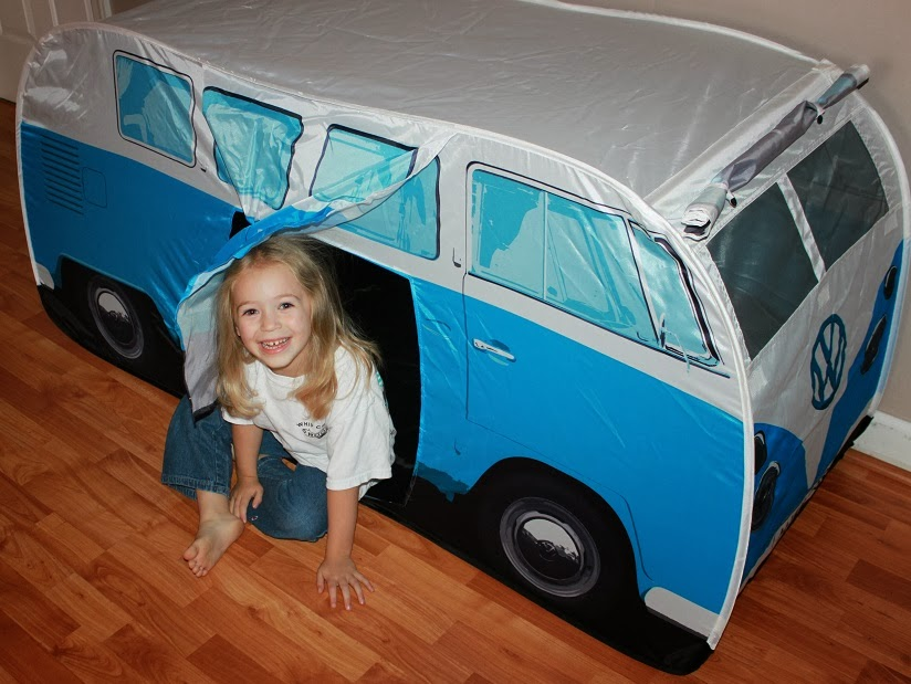 1965 V.W. C&er Van Play Tent by The Monster Factory Review! #ChristmasGiftGuide  sc 1 st  Airplanes and Dragonflies - Blogspot & Airplanes and Dragonflies: 1965 V.W. Camper Van Play Tent by The ...