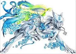 Tsuki~Wind Wolf Form