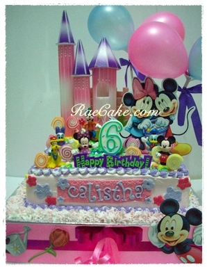 Kue ulang tahun birthday cake cupcake cake raecake for Dekor ulang tahun