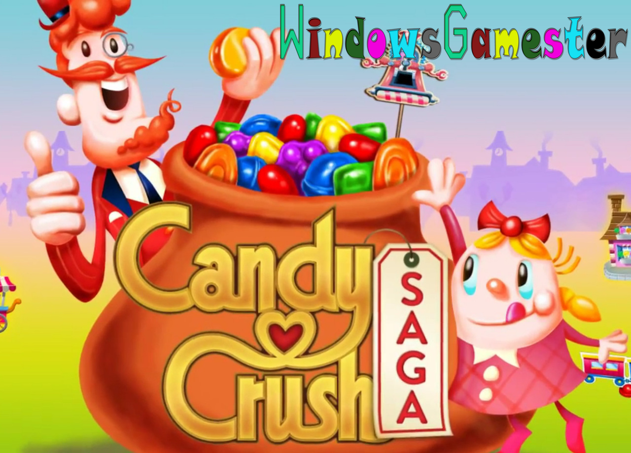CANDY CRUSH SAGA for PC (FULL VERSION edition)