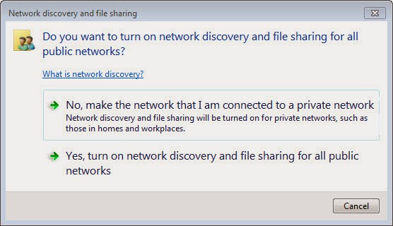 Network Discovery and File Sharing