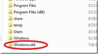 folder windows.old