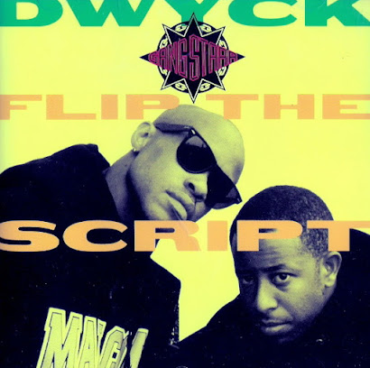 GANG STARR - DWICK / FLIP THE SCRIPT (1992)