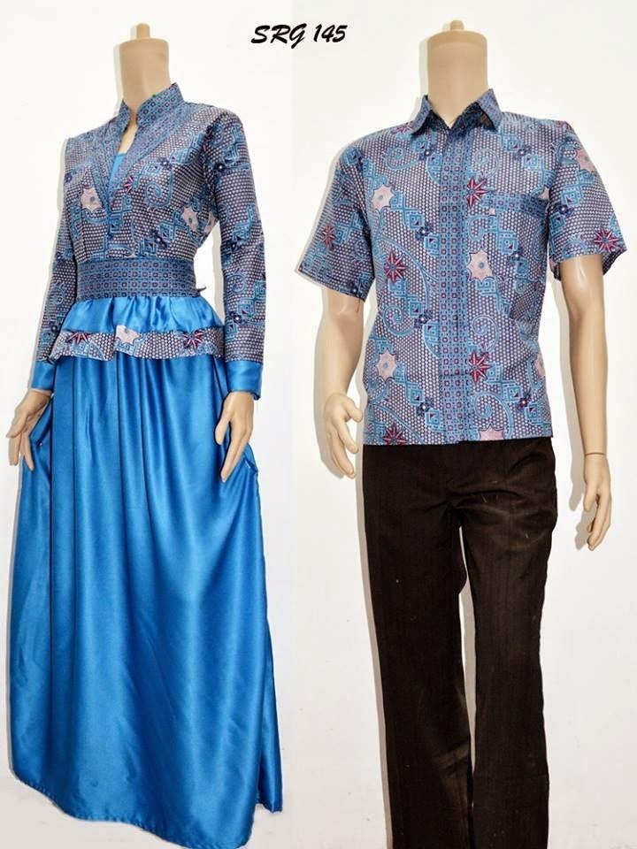 23 Koleksi Baju Gamis Batik Terbaru 2016 Model Baju Baju Gamis