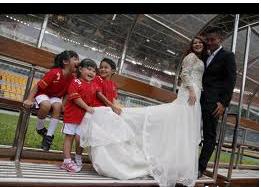 Pernikahan Okie dan Gumawan Dwi Cahyo