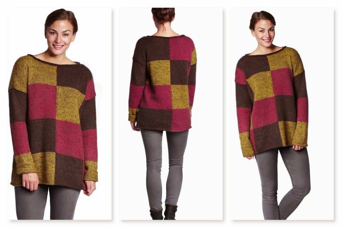Strik i fællesskab - Grafisk gobelin sweater fra BC-garn