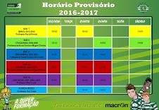 HORÁRIO 2016-2017