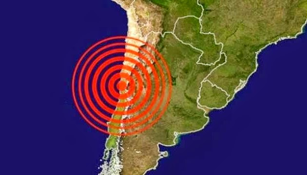 SISMO DE 5,8 GRADOS SACUDE EL NORTE DE CHILE, 28 DE MARZO DE 2015