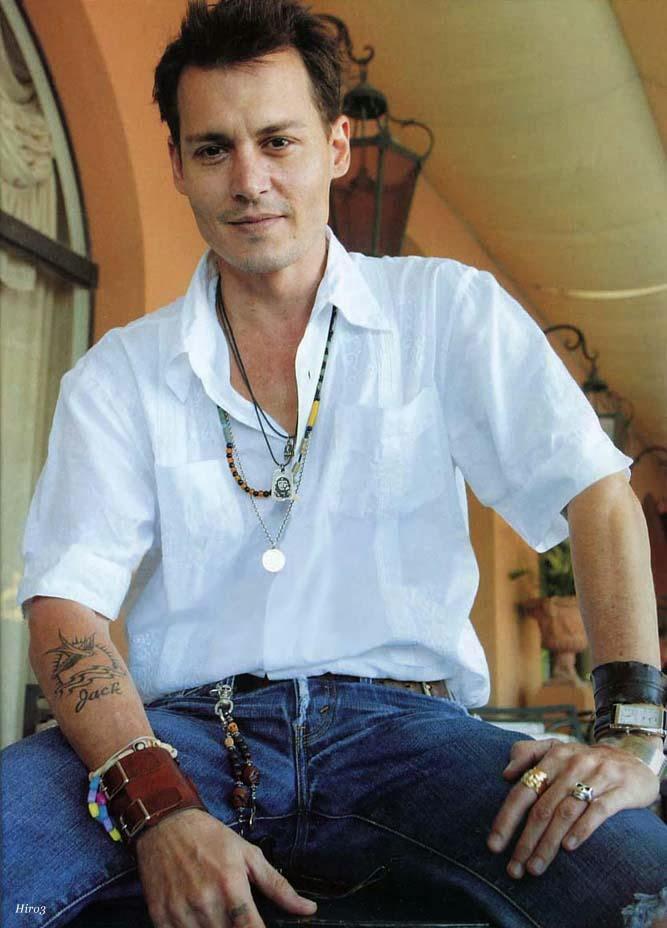 Johnny Depp Tattoos Designs Johnny Depp Tattoos Pictures