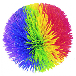 Elementary school counselors use Koosh balls with students