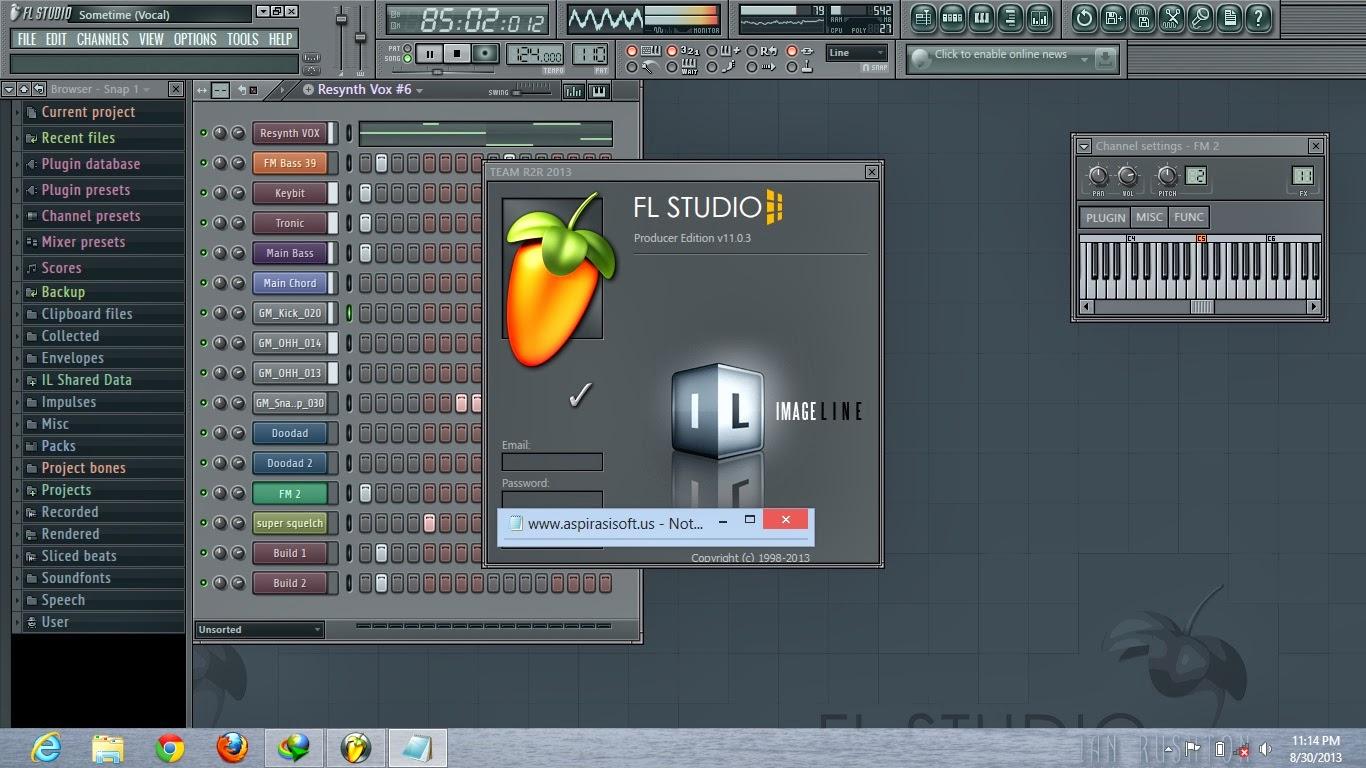fl studio 8 crack file