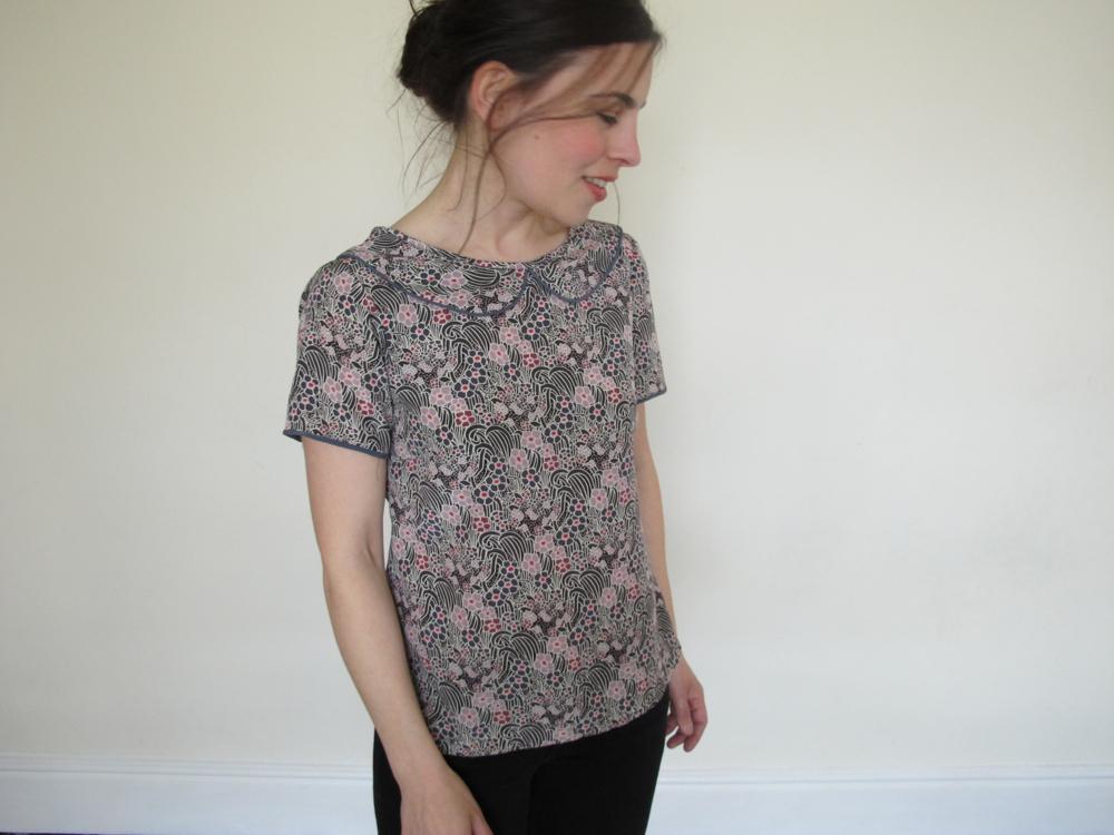 Colette Patterns Laurel blouse