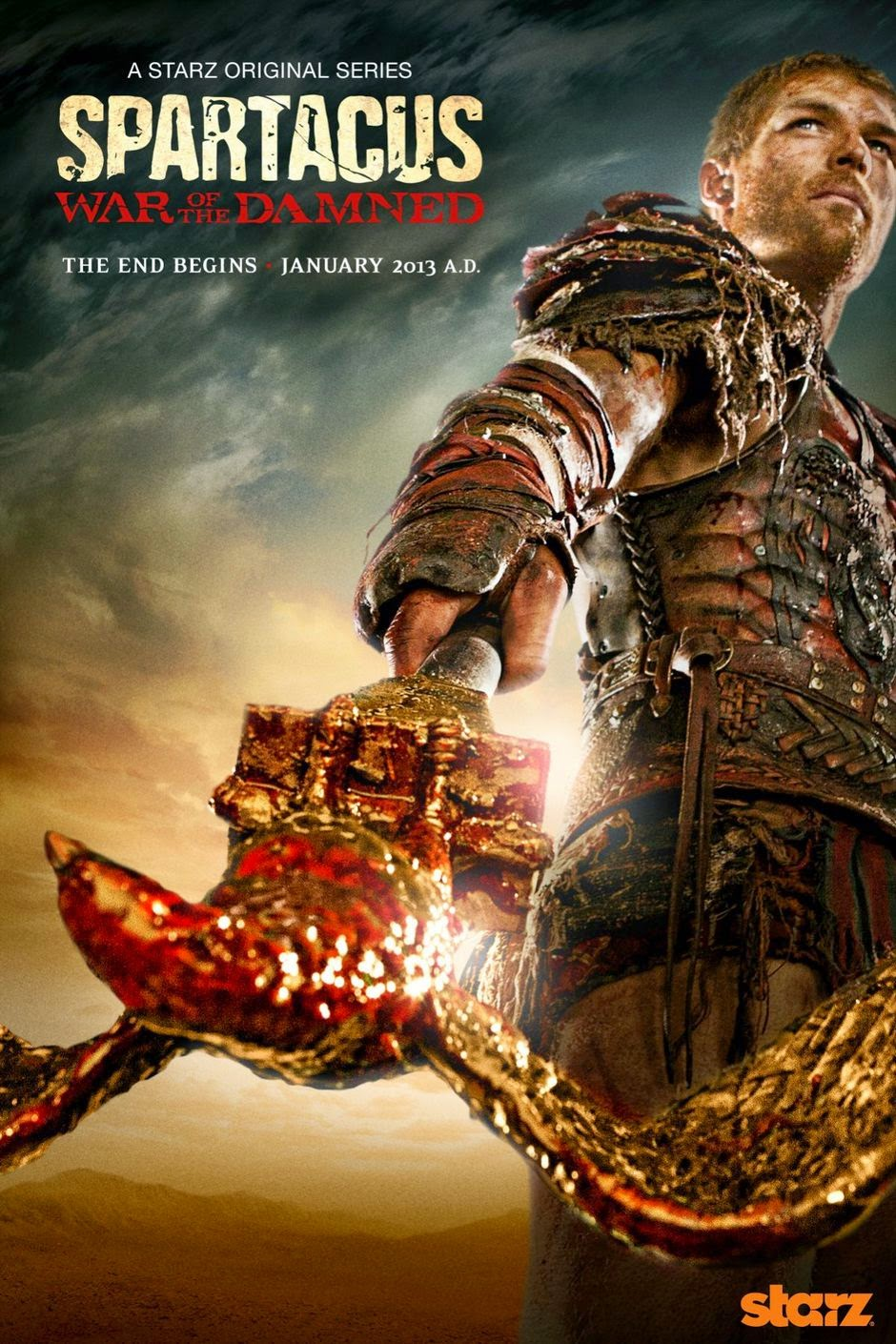 Spartacus: War of the Damned – Todas as Temporadas Dublado / Legendado (2013)