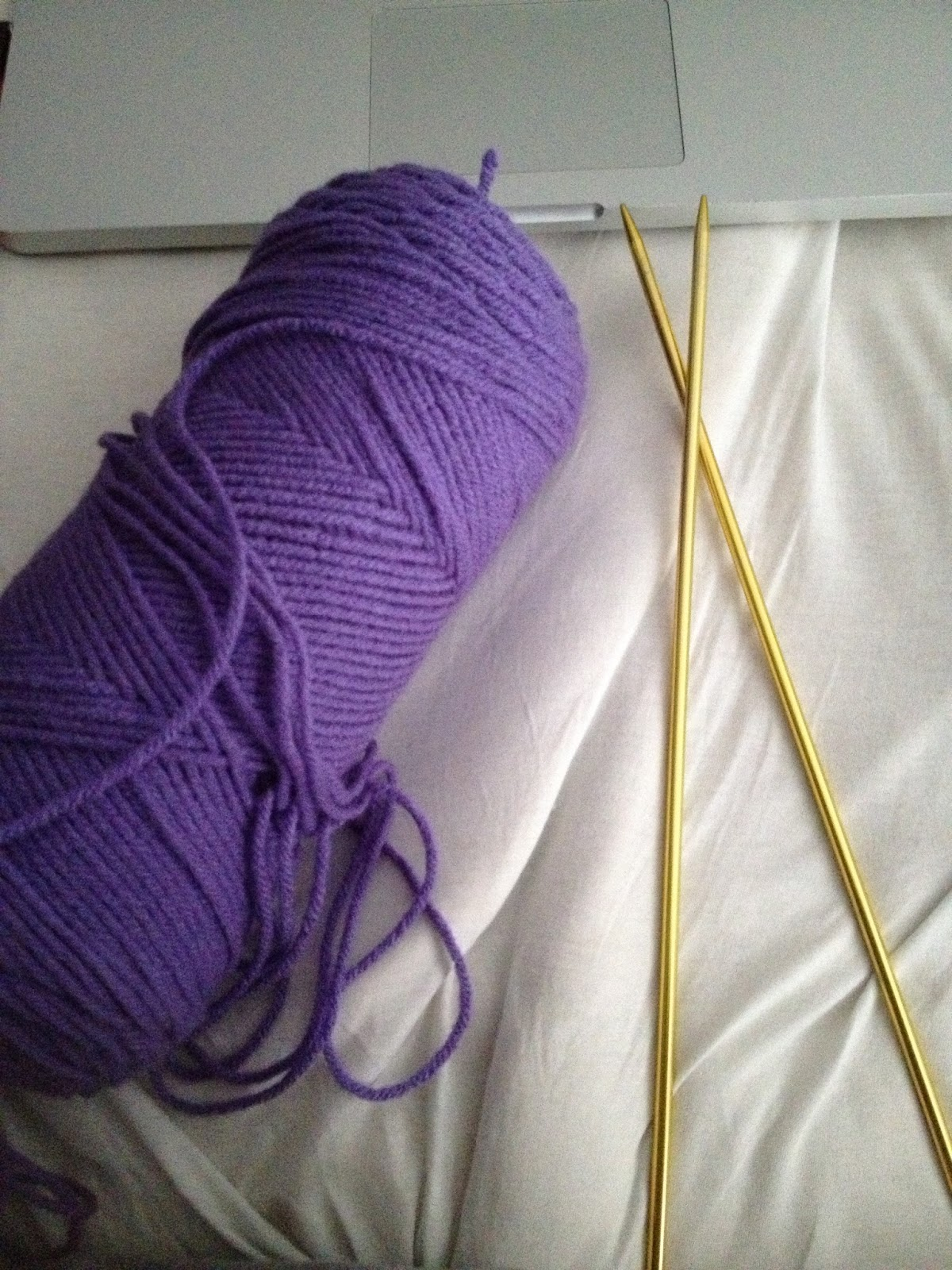 Knitting Long Tail Cast On Method : Knit your life how to cast on using the long tail method