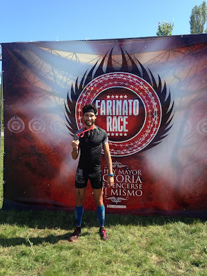 farinato race pamplona iruña finisher medalla