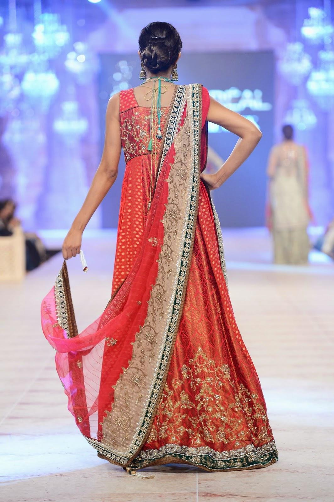 Nickie Nina at PLBW 2014 Pakistan Fashion Week Pakistan