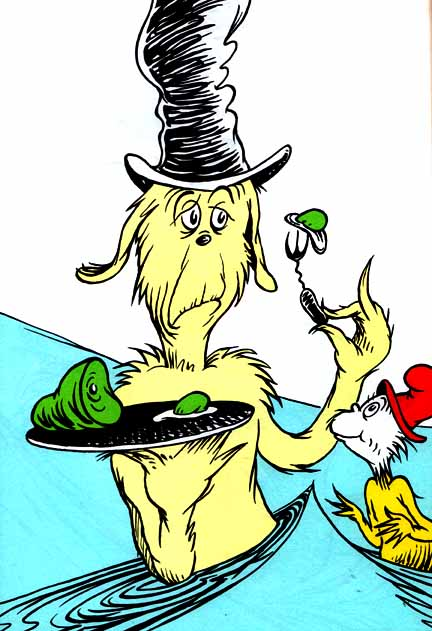 Happy Birthday Dr Seuss From Green Eggs And Ham