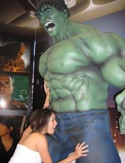 Humorous lol pic: Why is Hulk Screaming/Happy ?