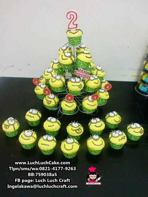 Cupcake Tower Minion Daerah Surabaya - Sidoarjo (Repeat Order)