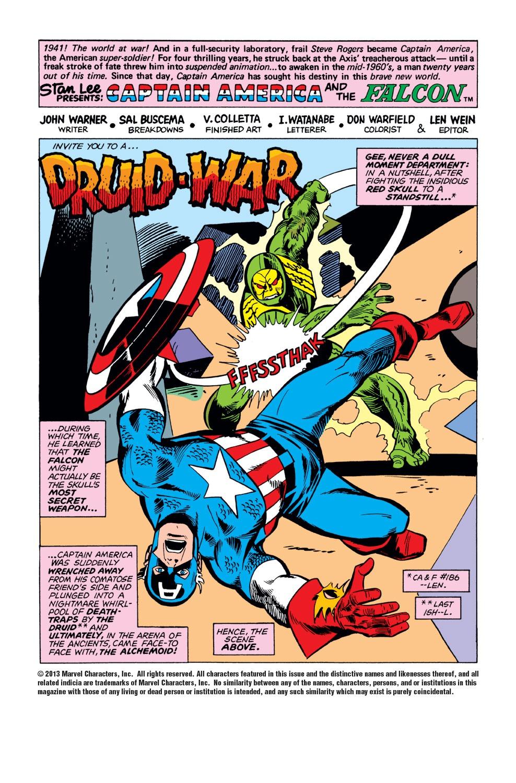 Captain America (1968) Issue #188 #102 - English 2