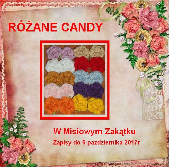 Różane candy u Lidzi