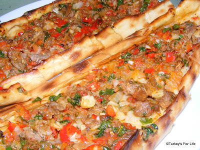 Turkish Food - Kuşbaşılı Pide