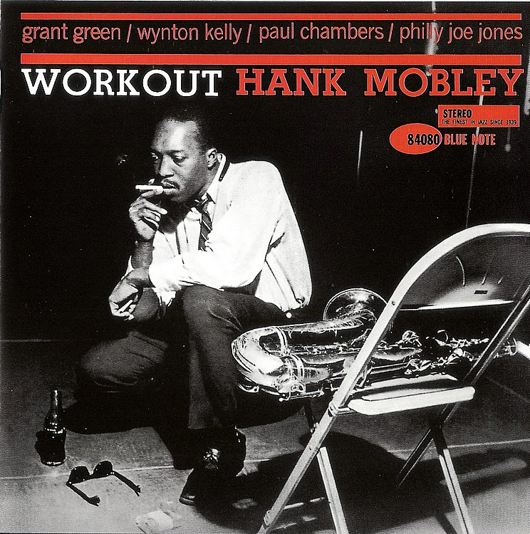 hank mobley - workout (album art)