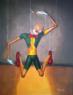 suicide of a puppet