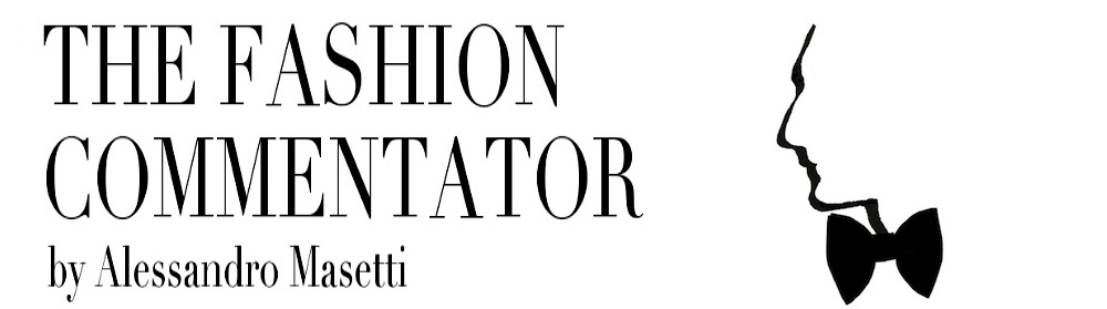""" The Fashion Commentator "" by Alessandro Masetti"