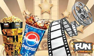 Fun Cinemas Free Popcorn+Pepsi Voucher