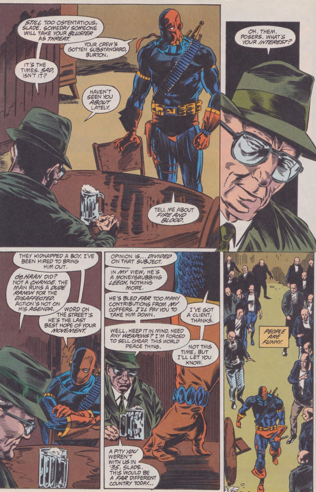 Deathstroke (1991) Issue #22 #27 - English 10