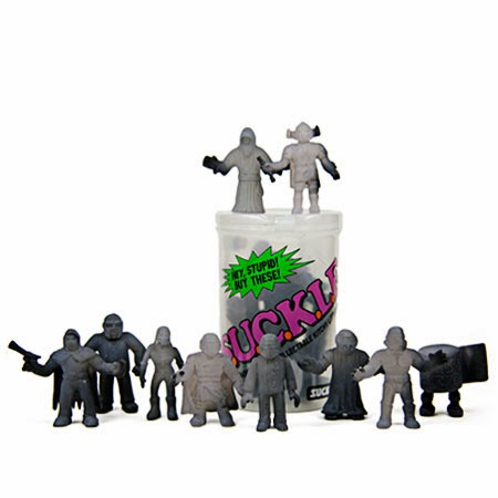 myplasticheart Exclusive Color Change Black S.U.C.K.L.E. Series 1 Mini Figures by The Super Sucklord