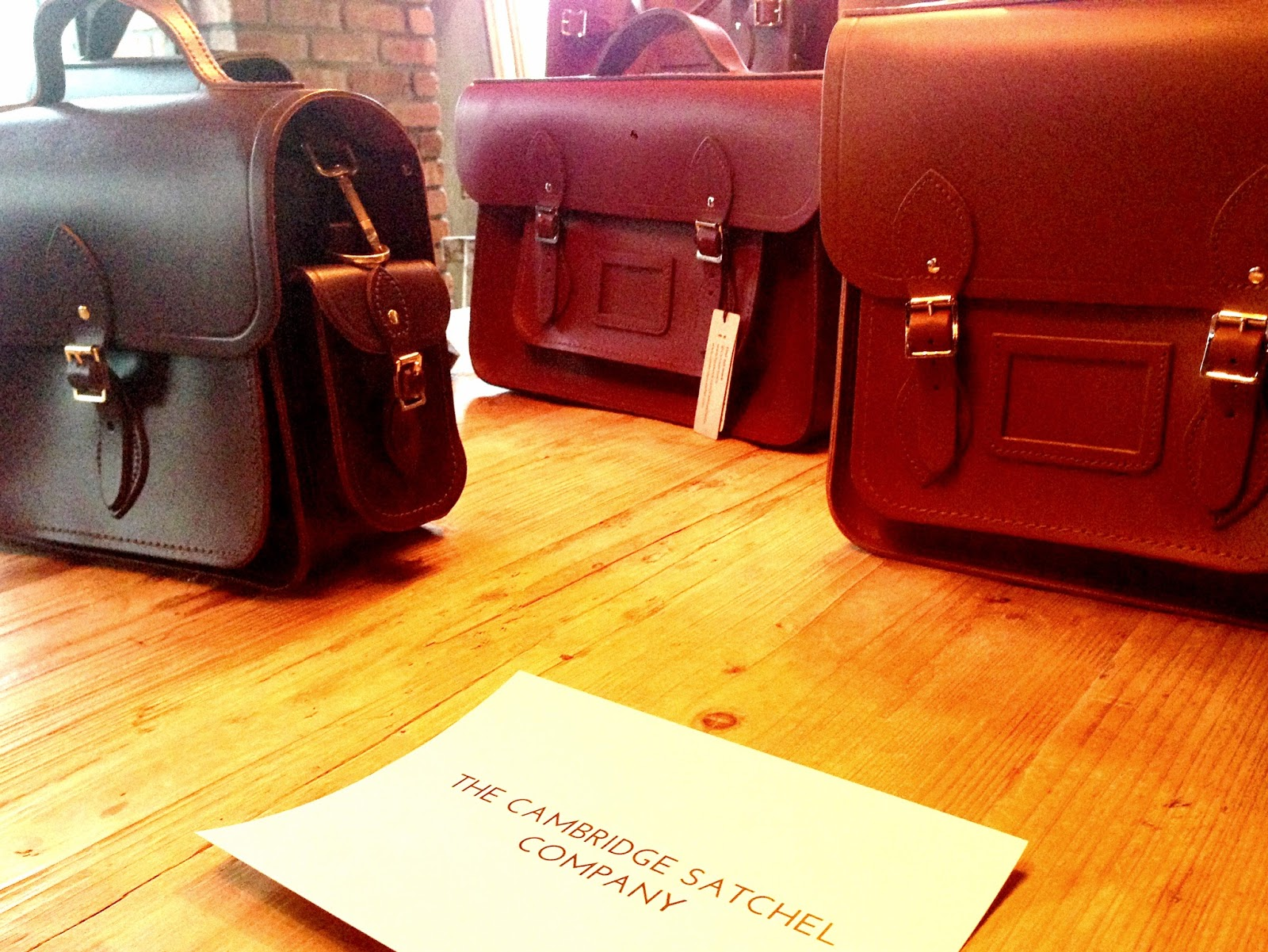 My Bag Online Autumn Winter Preview The Cambridge Satchel Company