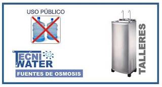 alquiler o comprar fuentes de osmosis inversa para talleres