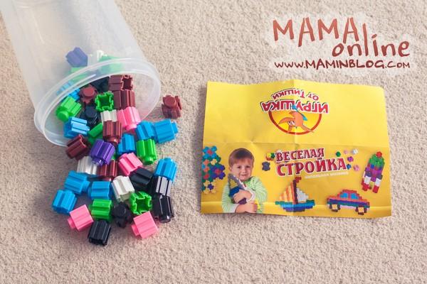 Мозаики для детей 3+. Обзор наших игрушек.