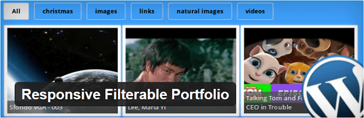 Responsive Filterable Portfolio plugin