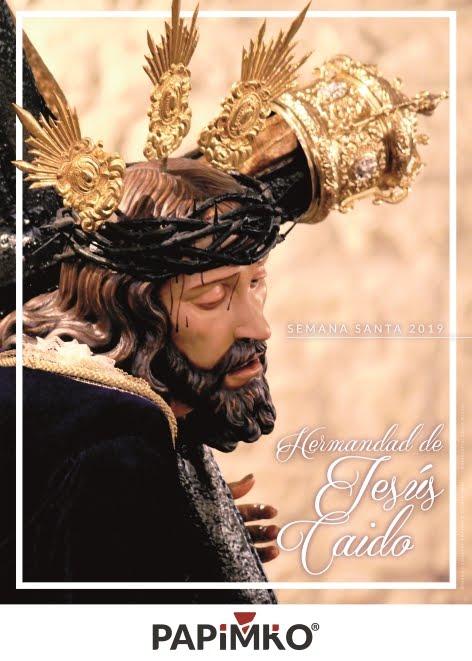 Cartel de la Hermandad de Jesús Caido 2019