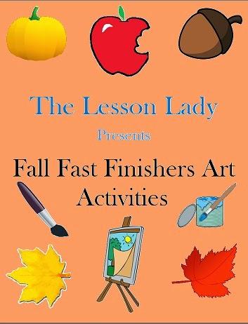 http://www.teacherspayteachers.com/Product/25-Fast-Early-Finisher-Art-Activities-for-Fall-855848