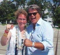 Met Emiel Ratelband tijdens de Maarten memorial race 2011.