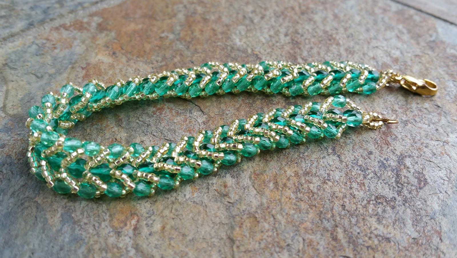 Free beading patterns myamari flat spiral stitch blog post baditri Image collections