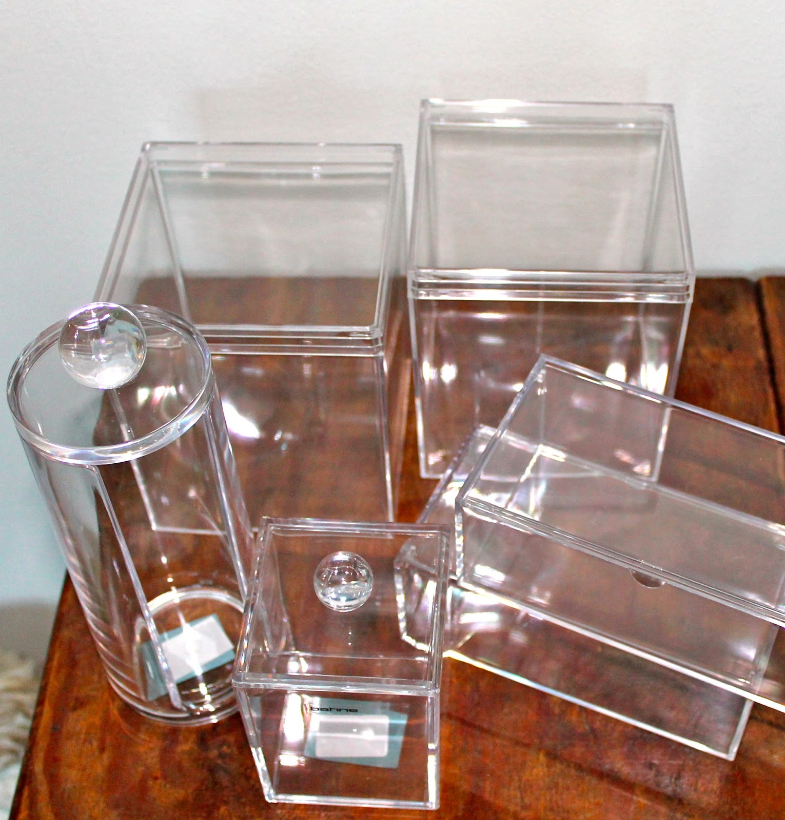 akryl bokse ikea
