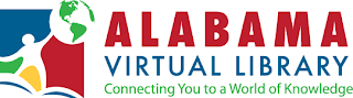 Alabama Virtual Library logo: Connecting You to a World of Knowledge
