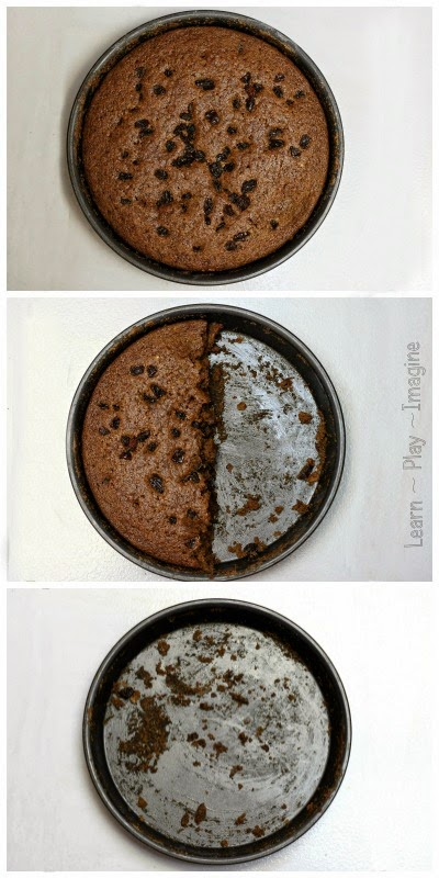 Learn the phases of the moon with this clean eating cake recipe.  Hands on math and science with a healthy treat!