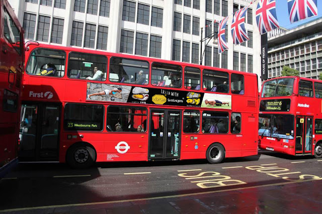 Transport Media - London - 2012 - Vibram