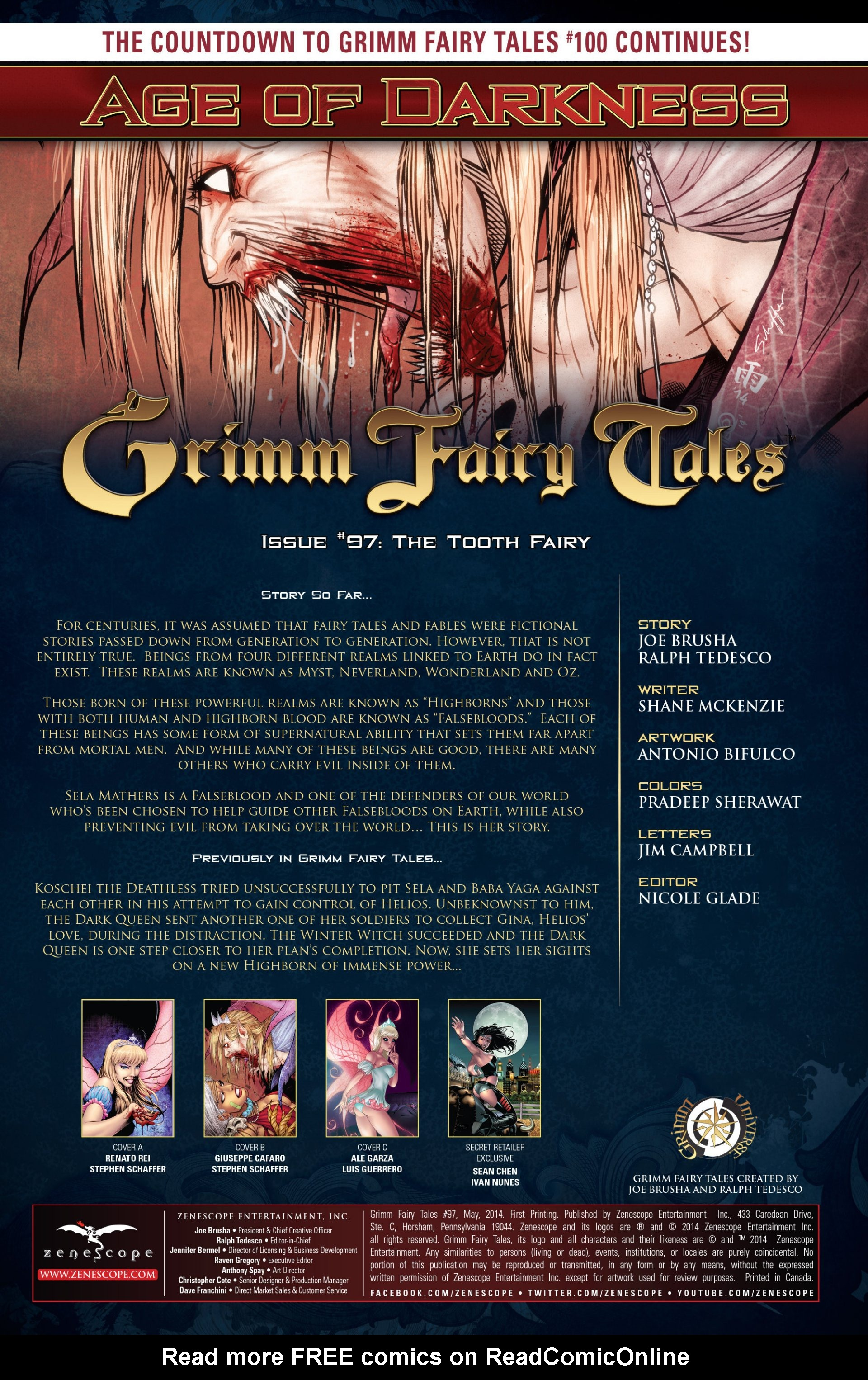 Grimm Fairy Tales (2005) Issue #97 #100 - English 2
