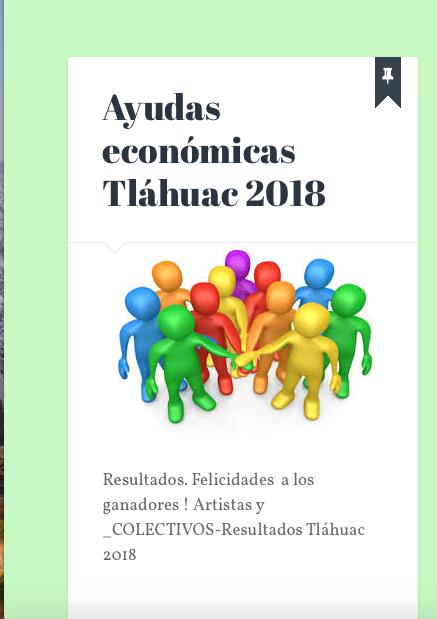 Ayudas económicas Tláhuac 2018